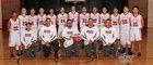 Grants Pirates Boys Varsity Basketball Winter 17-18 team photo.