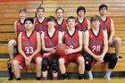 Green Forest Tigers Boys Varsity Basketball Winter 17-18 team photo.