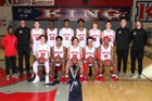King Wolves Boys Varsity Basketball Winter 17-18 team photo.