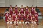 Sacred Heart Prep Gators Boys Varsity Basketball Winter 17-18 team photo.
