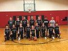 Ocosta Wildcats Boys Varsity Basketball Winter 17-18 team photo.