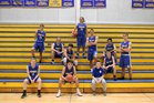 Ferndale Golden Eagles Boys Varsity Basketball Winter 17-18 team photo.