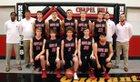 Chapel Hill Red Devils Boys Varsity Basketball Winter 17-18 team photo.