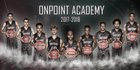 OnPoint Hoops Panthers Boys Varsity Basketball Winter 17-18 team photo.