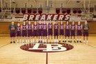 Laguna Beach Breakers Boys Varsity Basketball Winter 17-18 team photo.