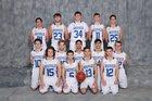 Westfield Wolverines Boys Varsity Basketball Winter 17-18 team photo.