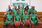 Ashbrook Green Wave Boys Varsity Basketball Winter 17-18 team photo.
