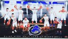 Clint Lions Boys Varsity Basketball Winter 17-18 team photo.