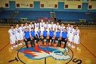 Hot Springs Tigers Boys Varsity Basketball Winter 17-18 team photo.
