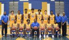 Mainland Buccaneers Boys Varsity Basketball Winter 17-18 team photo.