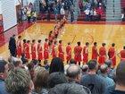 Elida Bulldogs Boys Varsity Basketball Winter 17-18 team photo.
