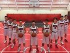 Crosspoint Warriors Boys Varsity Basketball Winter 17-18 team photo.