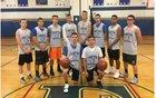 Frontier Falcons Boys Varsity Basketball Winter 17-18 team photo.