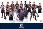 Calvary Christian Academy Eagles Boys Varsity Basketball Winter 17-18 team photo.