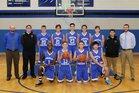 Christian Heritage Kingsmen Boys Varsity Basketball Winter 17-18 team photo.