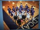 El Dorado Wildcats Boys Varsity Basketball Winter 17-18 team photo.