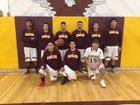 Vaughn Eagles Boys Varsity Basketball Winter 17-18 team photo.