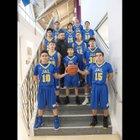 Jal Panthers Boys Varsity Basketball Winter 17-18 team photo.