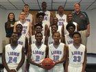 King Lions Boys Varsity Basketball Winter 17-18 team photo.
