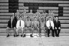 Cathedral Prep Ramblers Boys Varsity Basketball Winter 17-18 team photo.