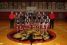 Searcy Lions Boys Varsity Basketball Winter 17-18 team photo.