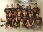 Niagara-Wheatfield Falcons Boys Varsity Basketball Winter 17-18 team photo.