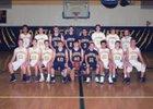 Saegertown Panthers Boys Varsity Basketball Winter 17-18 team photo.