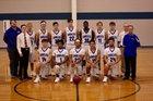 Paris Eagles Boys Varsity Basketball Winter 17-18 team photo.