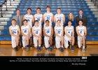 Walla Walla Blue Devils Boys Varsity Basketball Winter 17-18 team photo.