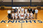 Charlotte Christian Knights Boys Varsity Basketball Winter 17-18 team photo.