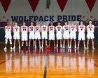 Black Hills Wolves Boys Varsity Basketball Winter 17-18 team photo.