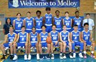 Archbishop Molloy Stanners Boys Varsity Basketball Winter 17-18 team photo.