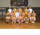 Kingman Bulldogs Boys Varsity Basketball Winter 17-18 team photo.