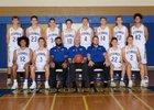 O'Connor Eagles Boys Varsity Basketball Winter 17-18 team photo.