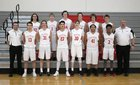 St. George's Dragons Boys Varsity Basketball Winter 17-18 team photo.