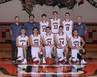 Monroe Bearcats Boys Varsity Basketball Winter 17-18 team photo.
