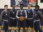 Ranney  Boys Varsity Basketball Winter 17-18 team photo.