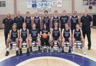 Carlsbad Lancers Boys Varsity Basketball Winter 17-18 team photo.