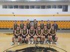 Goreville Blackcats Boys Varsity Basketball Winter 17-18 team photo.