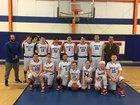 Mountain View Christian Academy Patriots Boys Varsity Basketball Winter 17-18 team photo.