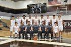 St. Francis Golden Knights Boys Varsity Basketball Winter 17-18 team photo.