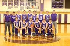Belle Fourche Broncs Boys Varsity Basketball Winter 17-18 team photo.