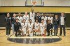 Hesperia Scorpions Boys Varsity Basketball Winter 17-18 team photo.