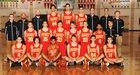 Jesuit Marauders Boys Varsity Basketball Winter 17-18 team photo.