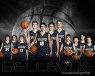 Bellevue Wolverines Boys Varsity Basketball Winter 17-18 team photo.
