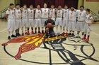 Baker Braves Boys Varsity Basketball Winter 17-18 team photo.
