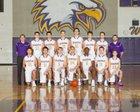 Issaquah Eagles Boys Varsity Basketball Winter 17-18 team photo.