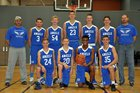 Grand Rapids HomeSchool Angels Boys Varsity Basketball Winter 17-18 team photo.
