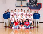 Chaparral Wolverines Boys Varsity Basketball Winter 17-18 team photo.