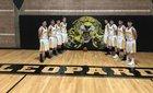 Coronado Leopards Boys Varsity Basketball Winter 17-18 team photo.